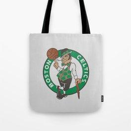 Boston Celstics Logo Tote Bag