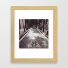 Come with Me... Framed Art Print