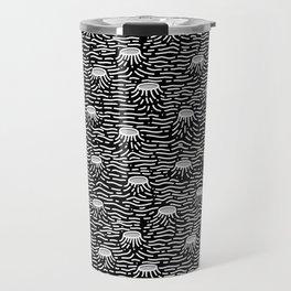 Dark Moon Surface Travel Mug