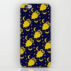 Owl Moon Starry Nights iPhone & iPod Skin