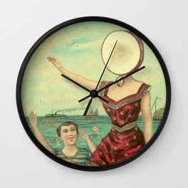 Neutral Milk Hotel - In the Aeroplane Over the Sea Wall Clock