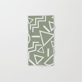 Shapes- lost and found Hand & Bath Towel