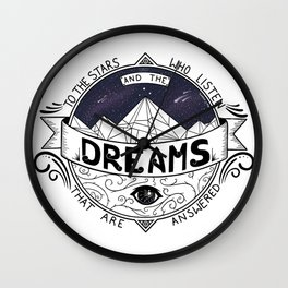 ACOMAF Inspired Wall Clock
