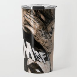 Zayn Charcoal sketch Travel Mug