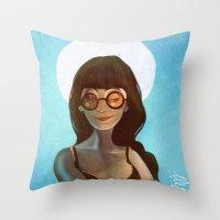 daria Throw Pillows featuring Daria by gapinska