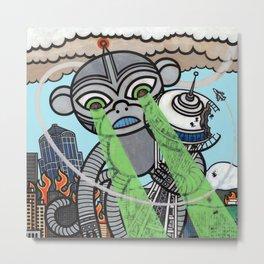 Destroy  Metal Print