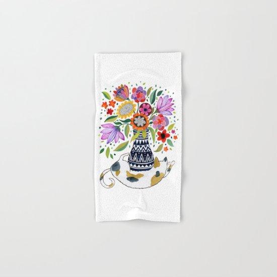 Calico Bouquet Hand & Bath Towel