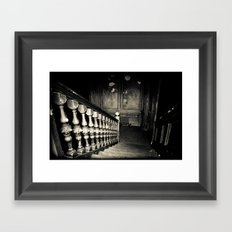Descent Framed Art Print