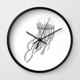 NY Sea Wall Clock