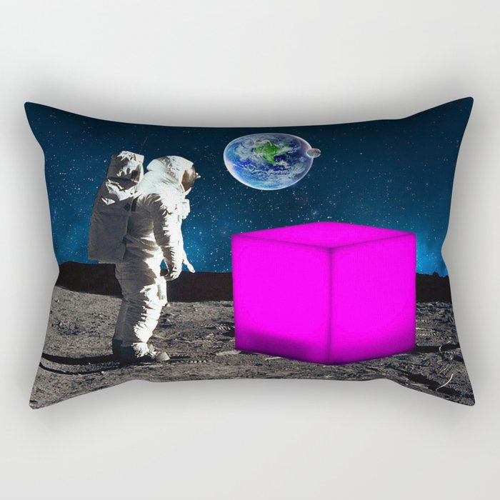 Cube from Space Rectangular Pillow