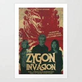 "Doctor Who ""The Zygon Invasion"" Art Print"