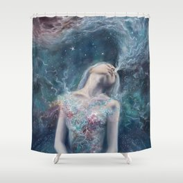 Love Will Split You Open Into Light Shower Curtain