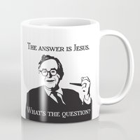 karl Mugs featuring Karl Barth by Madeline Audrey