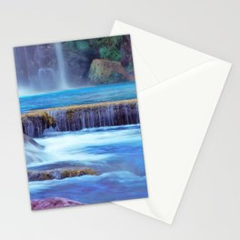 The Pools of Havasupai Falls - Revisited Stationery Cards