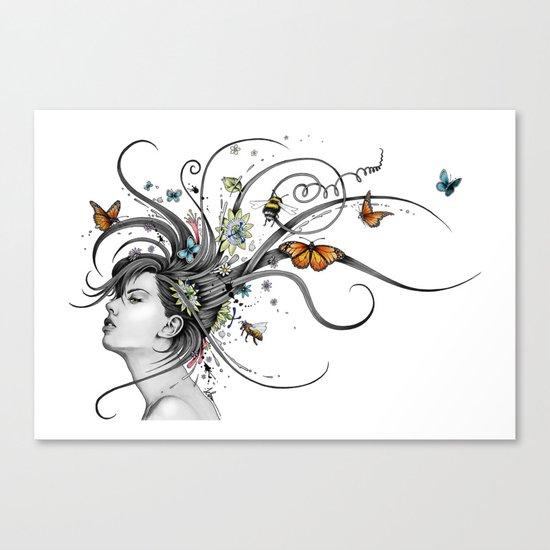 Hair Today Alternate Canvas Print