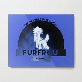 Furfrou -Normal- Metal Print
