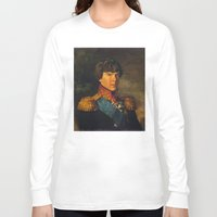 benedict cumberbatch Long Sleeve T-shirts featuring BENEDICT by John Aslarona