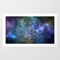 TRUTH IN THE STARS Art Print
