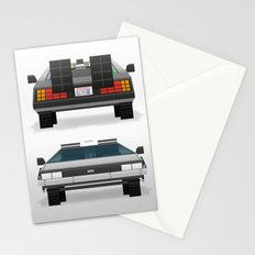 DMC: The Time Machine Stationery Cards