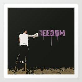 Reedom Art Print