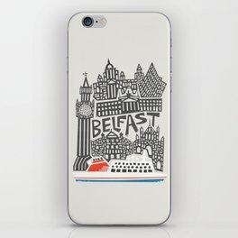Belfast Cityscape iPhone Skin