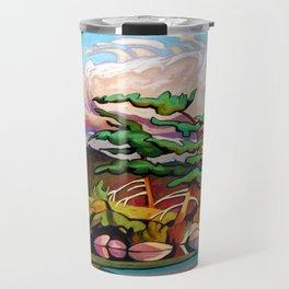 Juniper Islet by Amanda Martinson Travel Mug