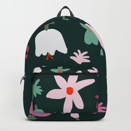 Handmade Out In the Forest Floral Patter Backpack
