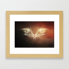 Heavenly Wings Framed Art Print