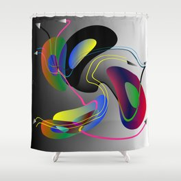Hypothetical parallelism II Shower Curtain