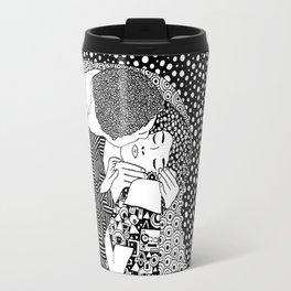The Kiss. Gustav Klimt. 1907 Travel Mug