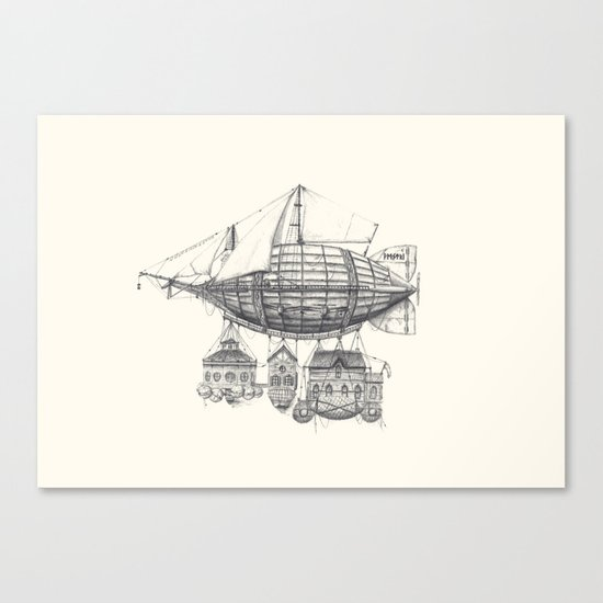 Vestri Canvas Print