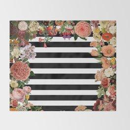 Modern Garden Throw Blanket