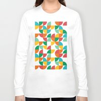 pie Long Sleeve T-shirts featuring Pie in the sky by Picomodi