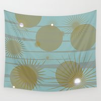 planets Wall Tapestries featuring Planets by carriejeandesigns