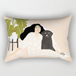 Best friendship story Rectangular Pillow