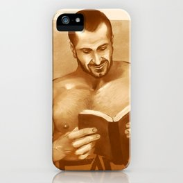 Sexy Reading iPhone Case