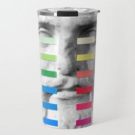 Sculpture With A Spectrum 1 Travel Mug