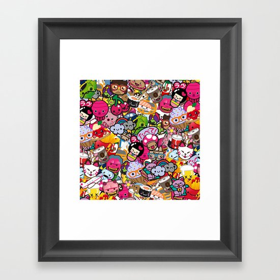 Supercombo #2 Framed Art Print