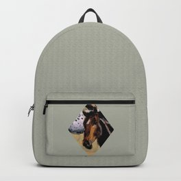 Galloping Horse Close-Up Backpack