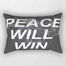 peace will win -- dark flowers -- dark grid -- twenty one pilots Rectangular Pillow