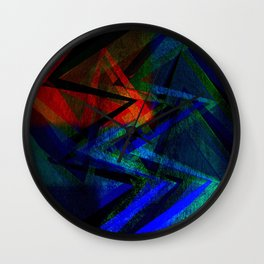 Abstract Art #  #### Wall Clock