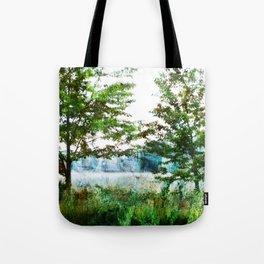 tinted meadow Tote Bag