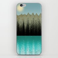 cabin iPhone & iPod Skins featuring Cabin View by Tammy Kushnir