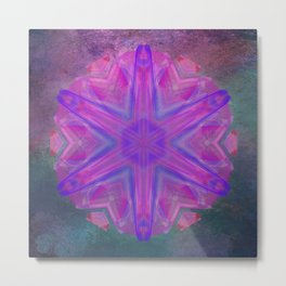 Jeweled splendor in vibrant pink Metal Print