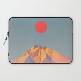 Sun on Mountain Laptop Sleeve