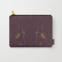 Brown Carry-All Pouch