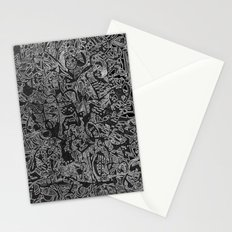 White/Black #3 Stationery Cards
