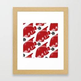 Fish 4 Framed Art Print
