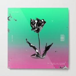 Iron flower Metal Print