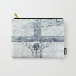 I preach Christ & Christ Crucified Carry-All Pouch
